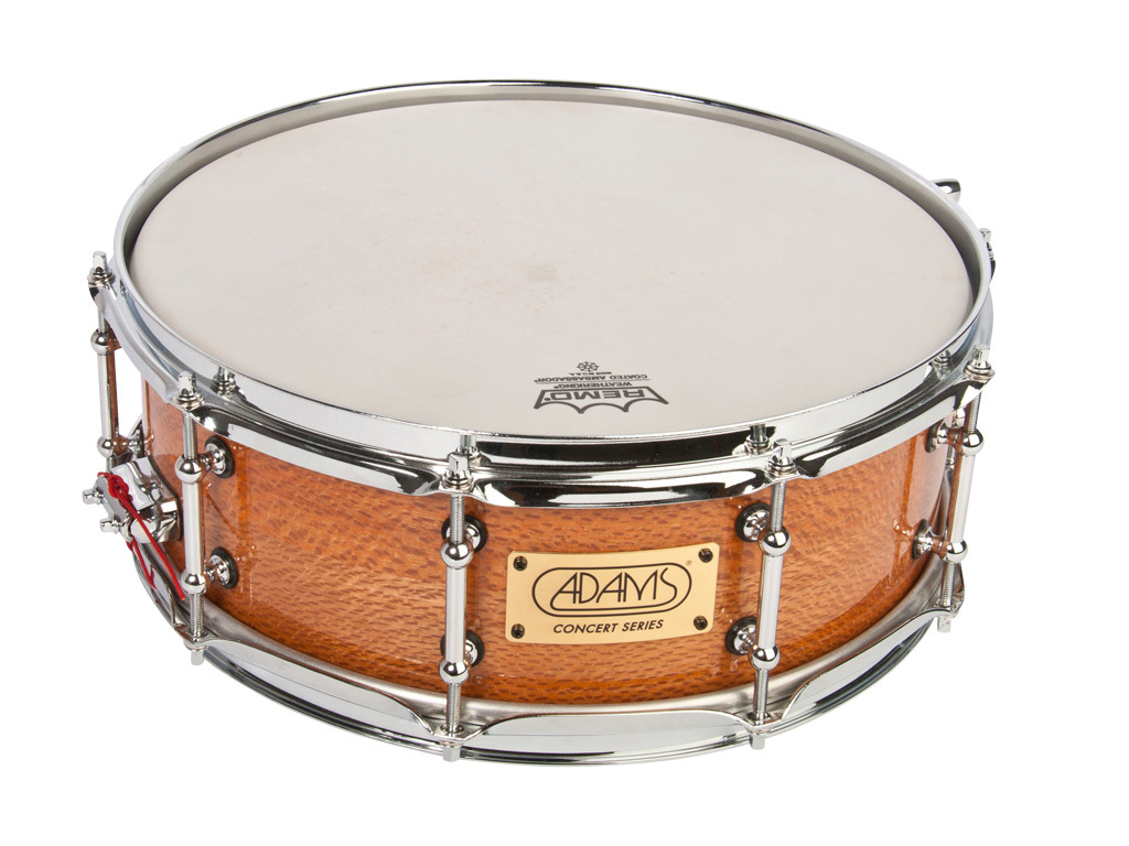 "Snaredrum Adams Concert Series ACS1450MLS, 14""x5"", Mahogany Light Shell, short snares"