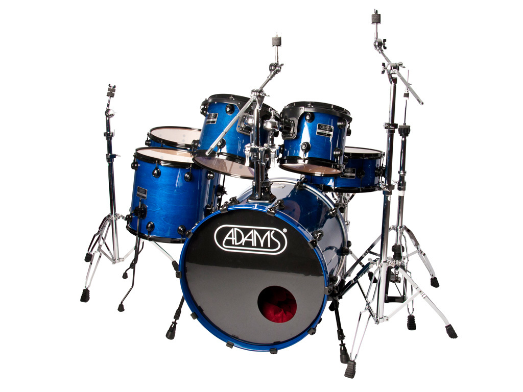"Drumset Adams 7000 Vital 22 Rock set, 22"", 10"", 12"", 14"", 16"", 14"""