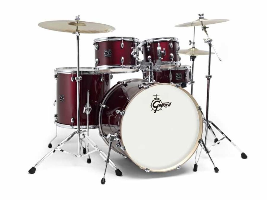 Drumset Gretsch Energy Gex E825 5 22 10 12 16 14 5 Parts