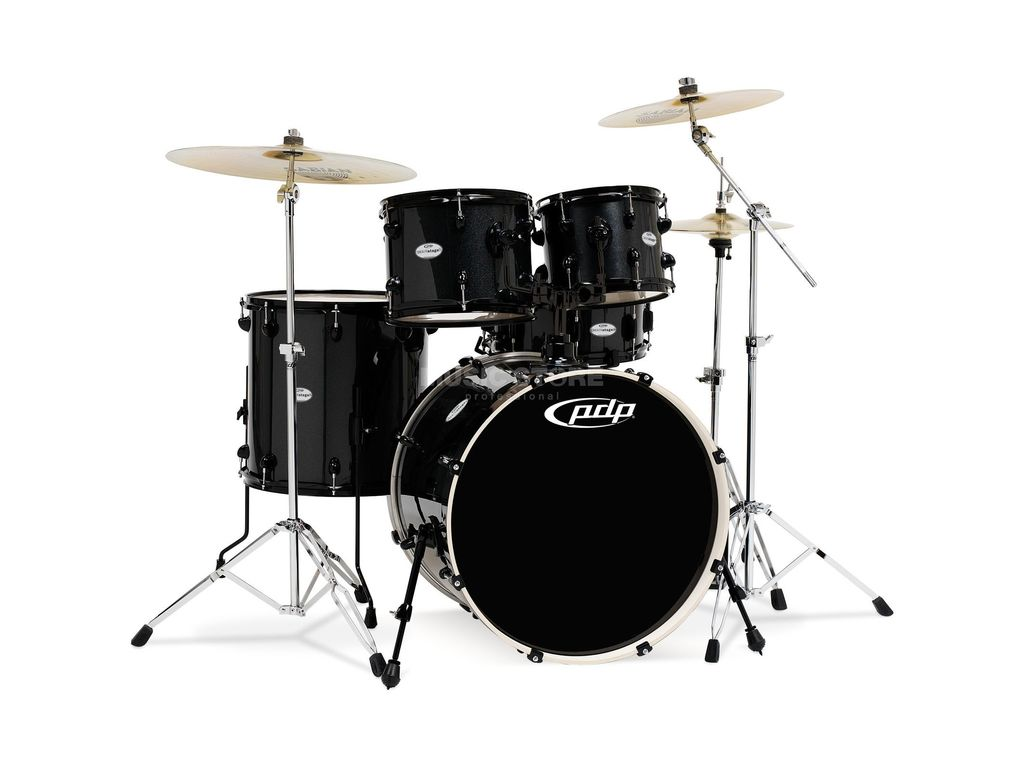"Drumstel PDP Mainstage 20"" Black Metallic, 20"", 10"", 12"", 14"", 14"""