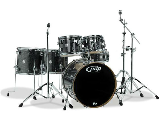 "Schlagzeug PDP Concept Maple CM6 22"" Black Sparkle, 22"", 10"", 12"", 14"", 16"", 14"""