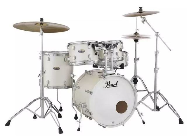 Drumstel Pearl Decade Maple DMP905P/C 229 White Satin Pearl