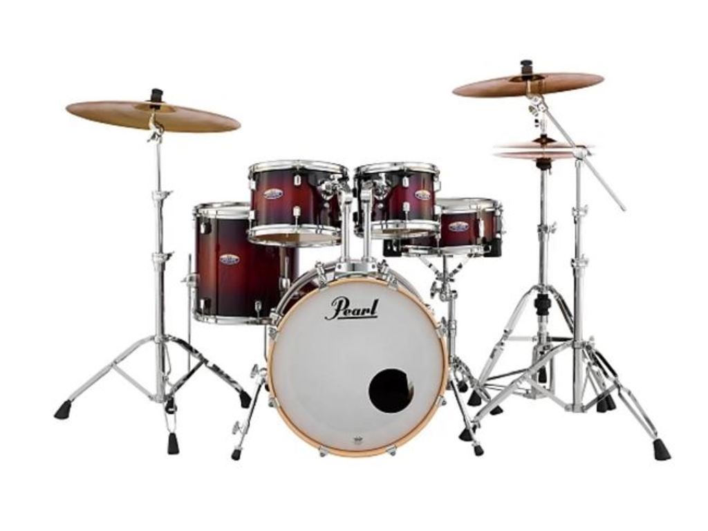 Drumstel Pearl Decade Maple DMP925SP/C 261 Gloss Deep Red Burst