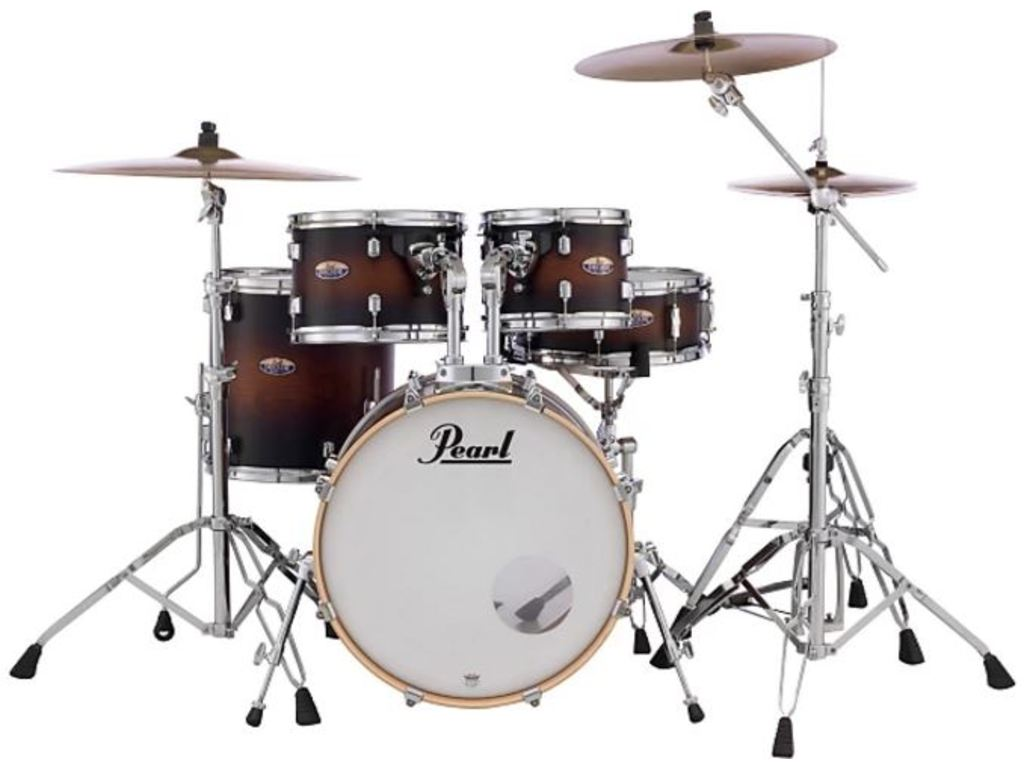 "Drumset Pearl Decade Maple DMP925S/C, 22"", 10"", 12"", 16"", 14"", including hardware"