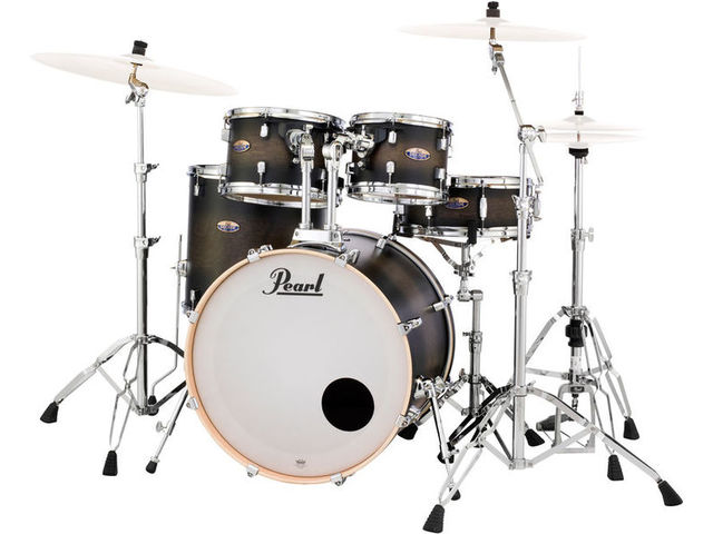Drumstel Pearl Decade Maple DMP925FP/C 262 Satin Black Burst