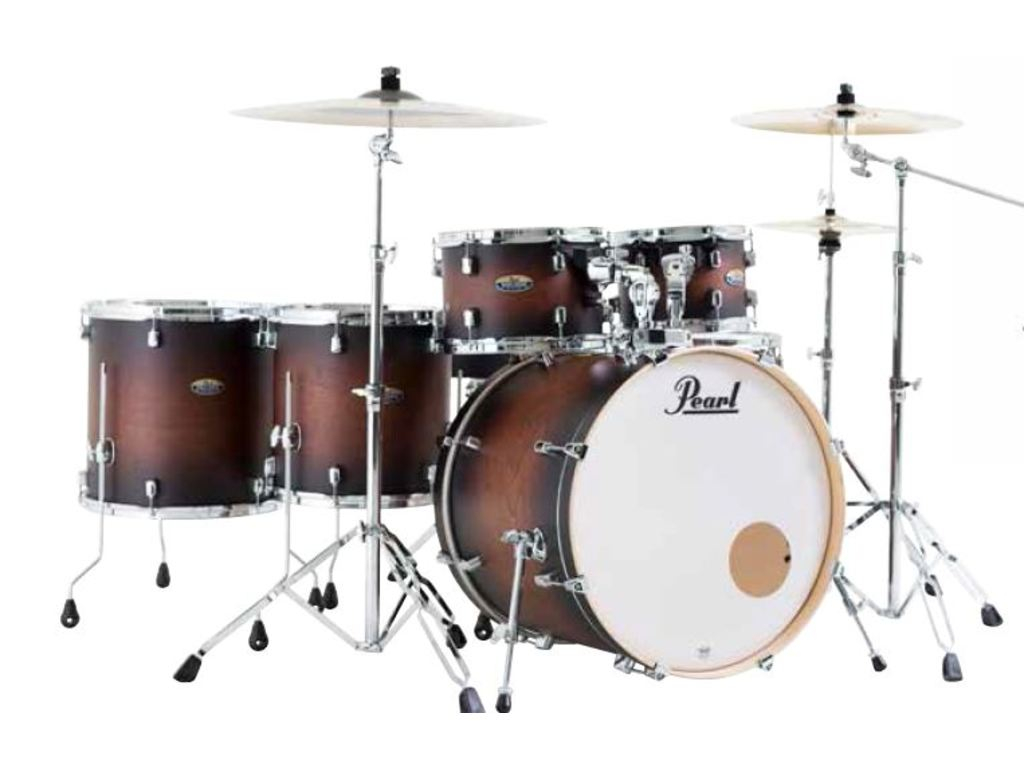 "Drumstel Pearl Decade Maple DMP926S/C, 22"", 10"", 12"", 14"", 16"", 14"", inclusief hardware"