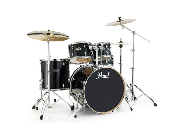 Drums Pearl Export Lacquer EXL725F/C 248 Black Smoke