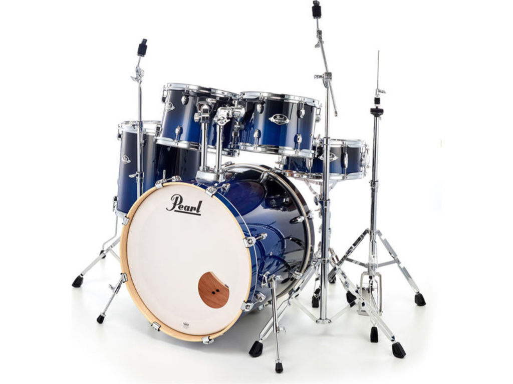 Drumstel Pearl Export Lacquer EXL725F/C 257 Sea Blue Fade