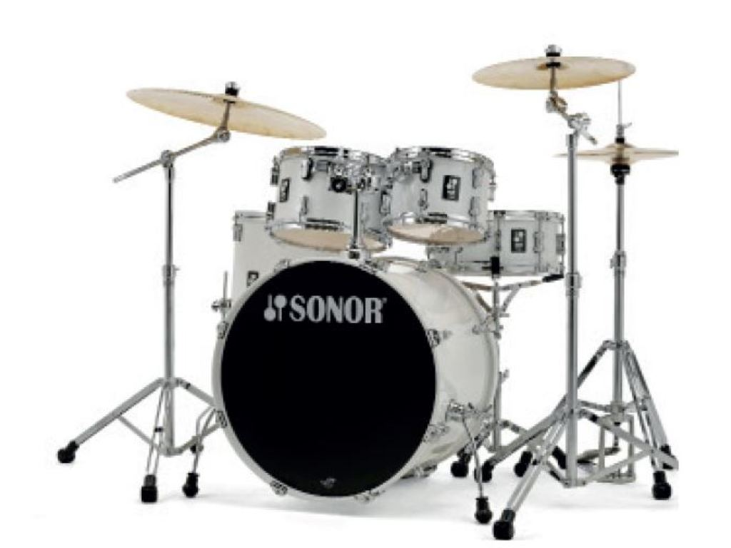 Drumstel Sonor AQ1 Serie Stage Set PW Piano White