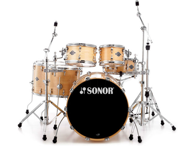 "Drumstel Sonor Select Force Serie SEF 11 Stage S Drive NM Natural Maple High Gloss, 22"", 10"", 12"", 14"", 16"", 14"""