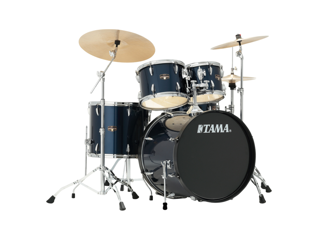 "Drumstel Tama Imperialstar IP52KH6N-MNB Midnight Blue, 22"", 10"", 12"", 16"", 14"", inclusief hardware"