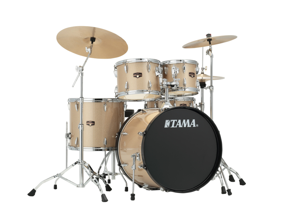 "Drumstel Tama Imperialstar IP52KH6N-CHM Champagne Mist, 22"", 10"", 12"", 16"", 14"", inclusief hardware"