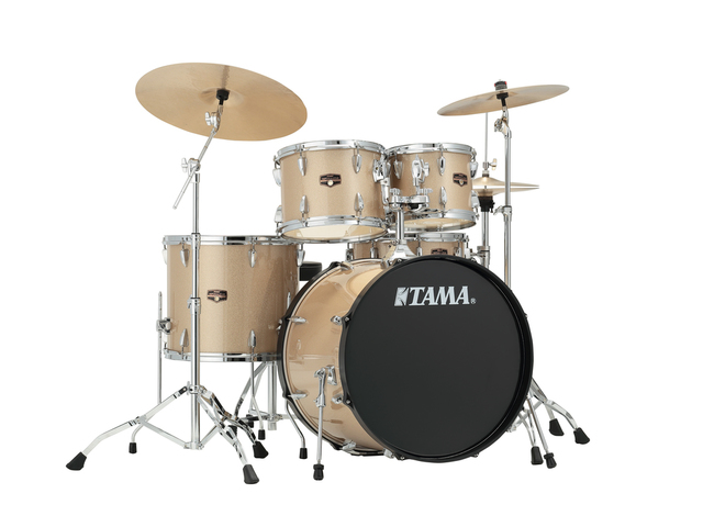 "Drumset Tama Imperialstar IP52KH6N-CHM Champagne Mist, 22"", 10"", 12"", 16"", 14"", including hardware"