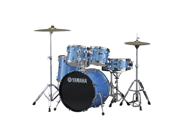 Drumstel Yamaha Gigmaker GM2F5 BIG Blue Ice Sparkle