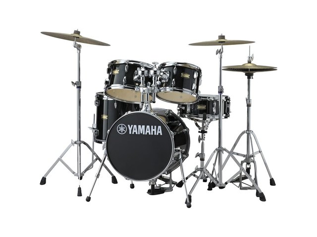 "Drumstel Yamaha Junior Kit JK6F5RBSET Raven Black, 16"", 10"", 12"", 13"", 12"""