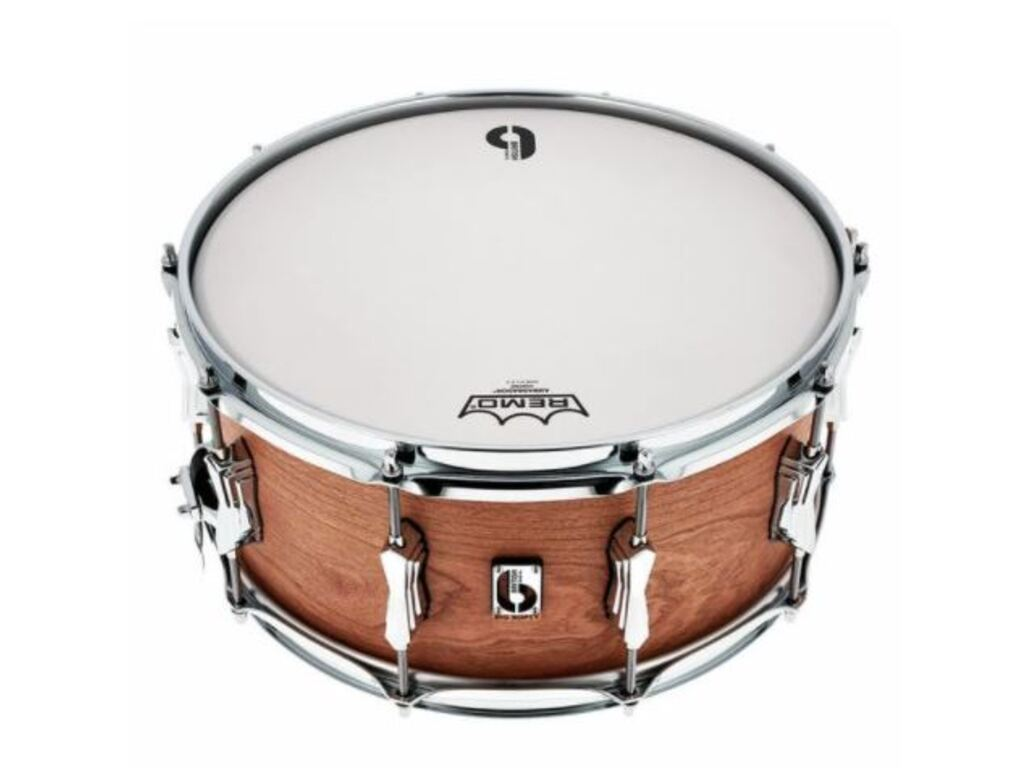 "Snaredrum British Drum Co. BS-1465-SN, Big Softy, 14"" x 6,5"" Pro Snare Big Softy, Hautfarbe Kersenfineer"