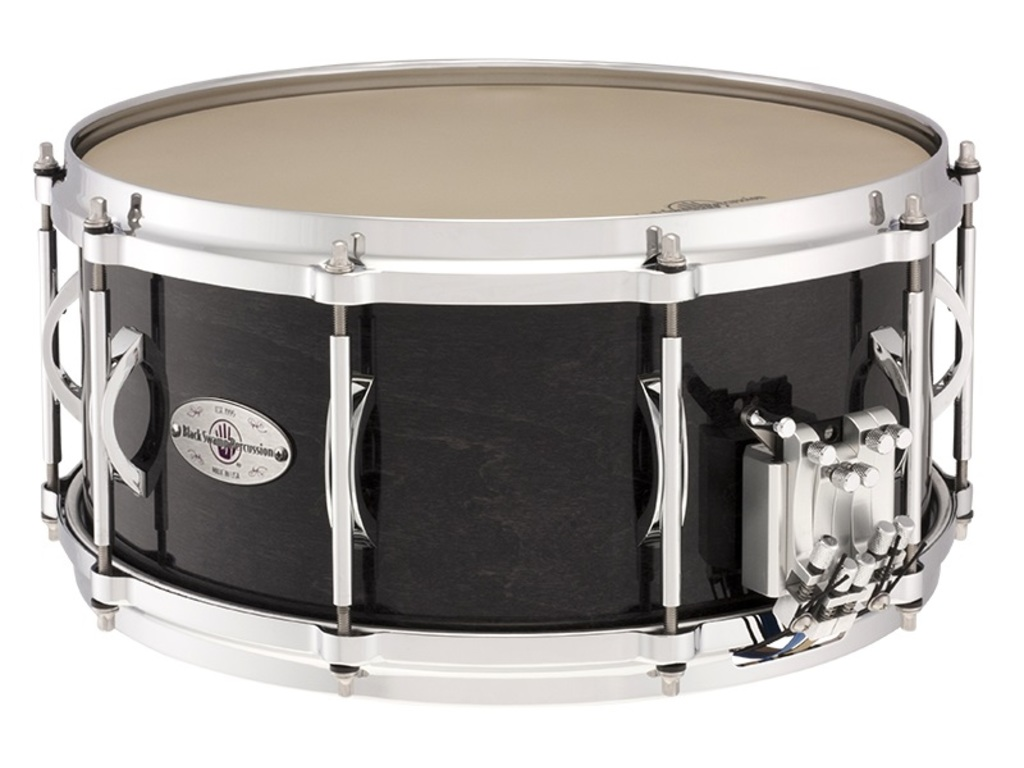 "Snaredrum Black Swamp SA6514CDT, 14"" x 6.5"", Resin Fiber, Die-cast Hoops, Trio snares"