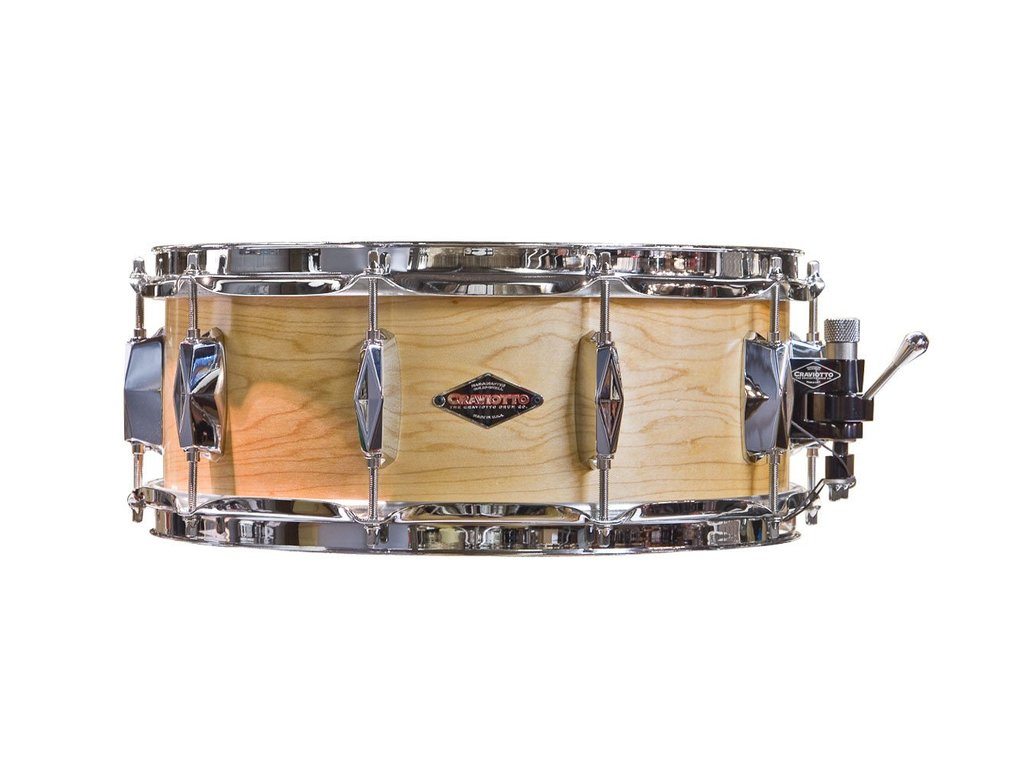 "Snaredrum Craviotto Johnny C Maple snare drum 14"" x 5.5"""