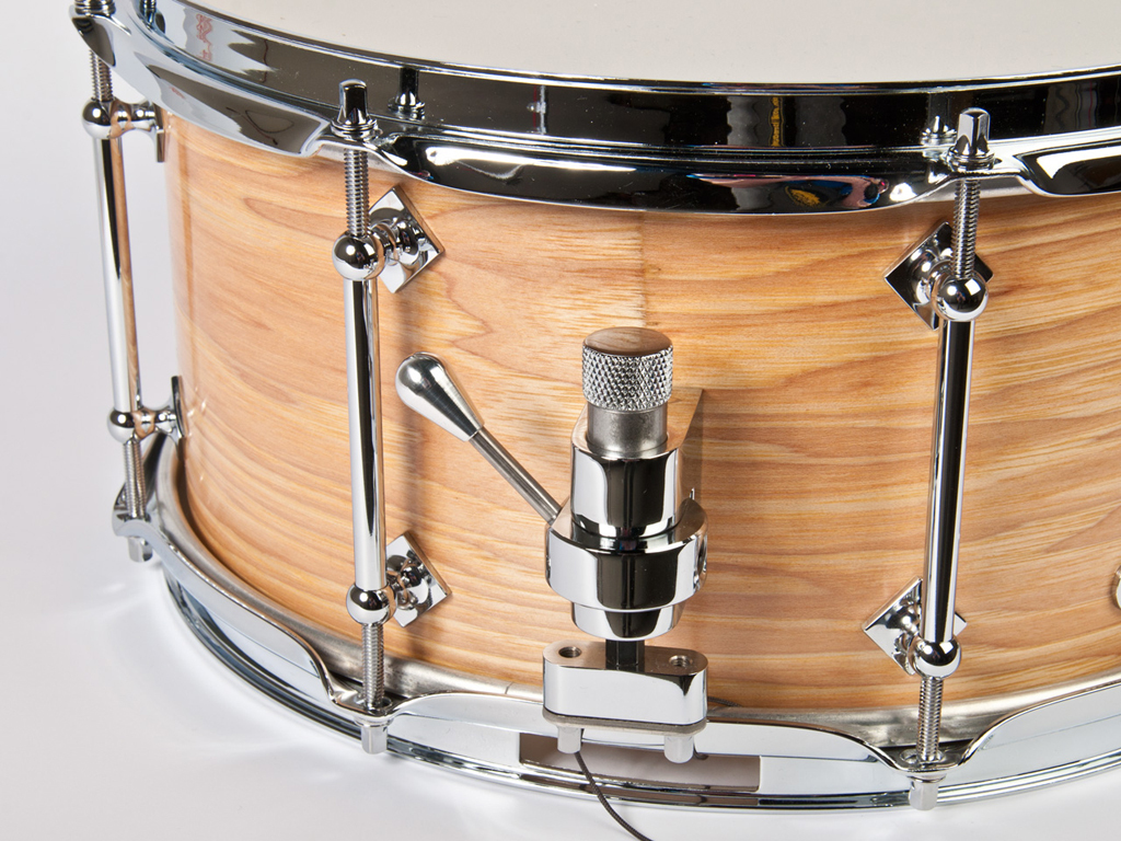 "Snaredrum Craviotto solid shell hickory snare drum 6.5x13""bb/45"" edges"