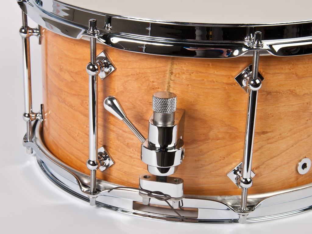 "Snaredrum Craviotto solid shell maple snare drum 13"" x 6.5"", 45"" edges"