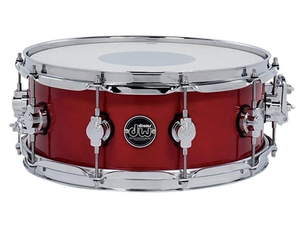 "Snaredrum DW Performance Lacquer 14"" x 5,5"" Candy Apple Red"