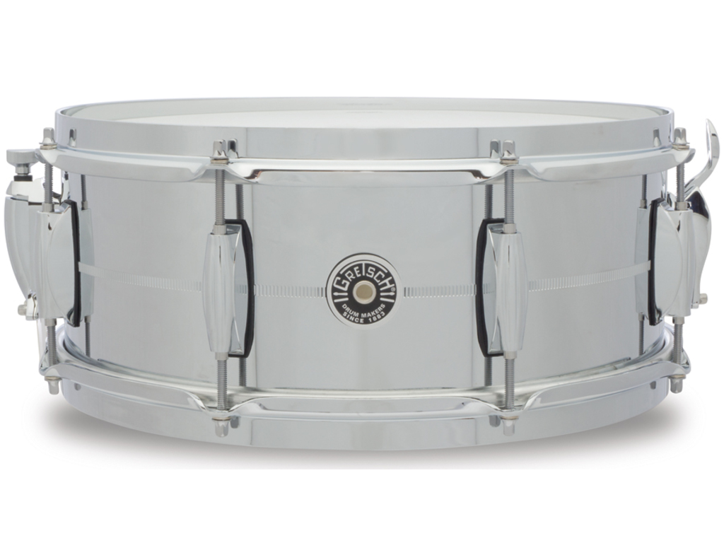 "Snaredrum Gretsch USA Brooklyn GB4165S 14"" x 5.5"", chroom over staal"