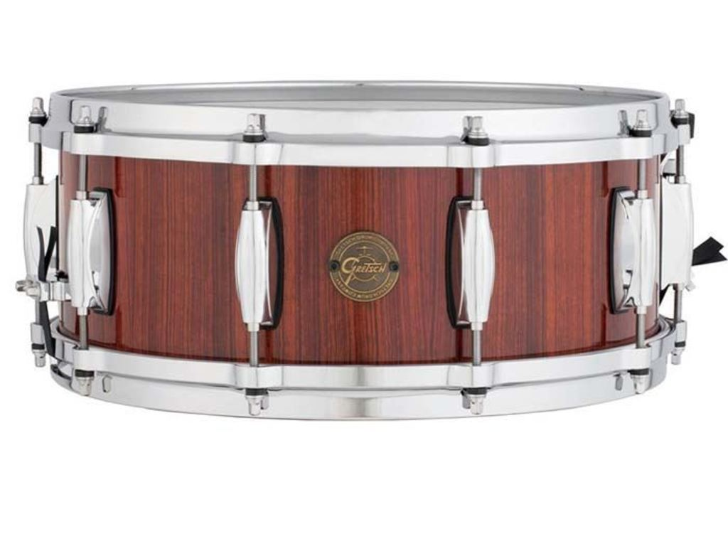 "Snaredrum Gretsch S1-5514-RW, Full Range, Rosewood, Gloss over Natural Stain Finish 14"" x 5,5"""