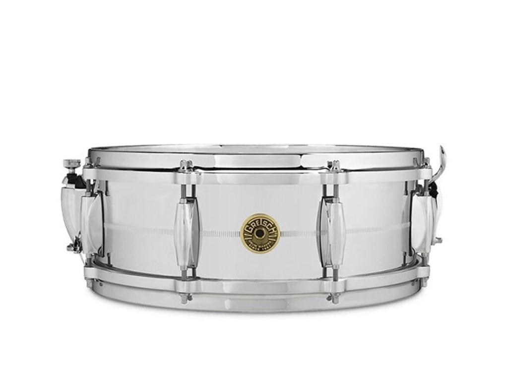 "Snaredrum Gretsch G4160, 14"" x 5"", Chrome over Brass, 8 lugs"
