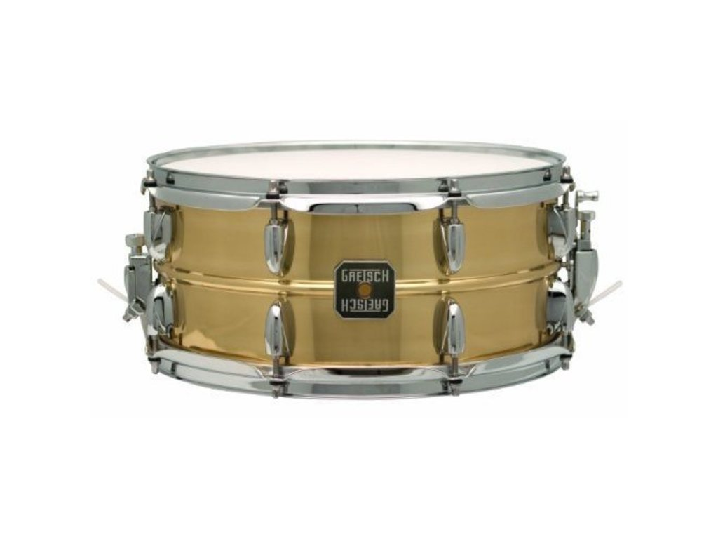 "Snaredrum Gretsch S-0612GL-PBR, Legend Brass 12"" x 6"" Beaded Brass Shell, 6-lug"