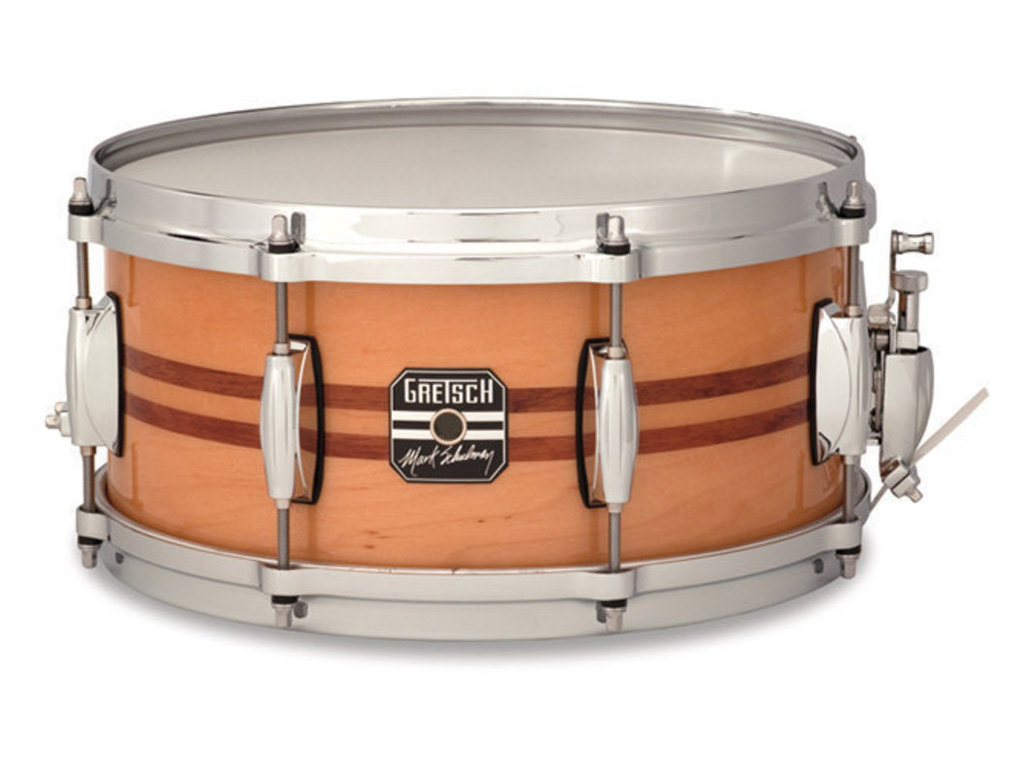 "Snaredrum Gretsch S1-0613-MS, Mark Shulman, Artist Series, 13"" x 6"", Gloss natural Finish"