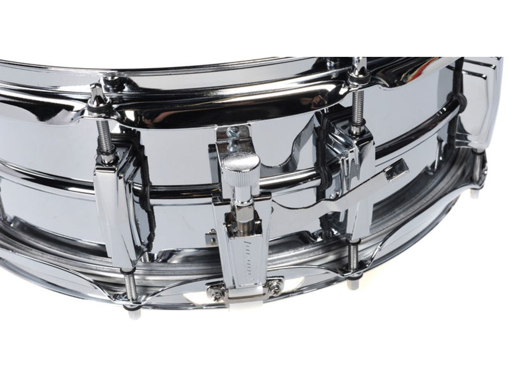 "Snaredrum Ludwig LM400, 14"" x 5"", seamless metal snare, imperial lugs, Supra phonic"