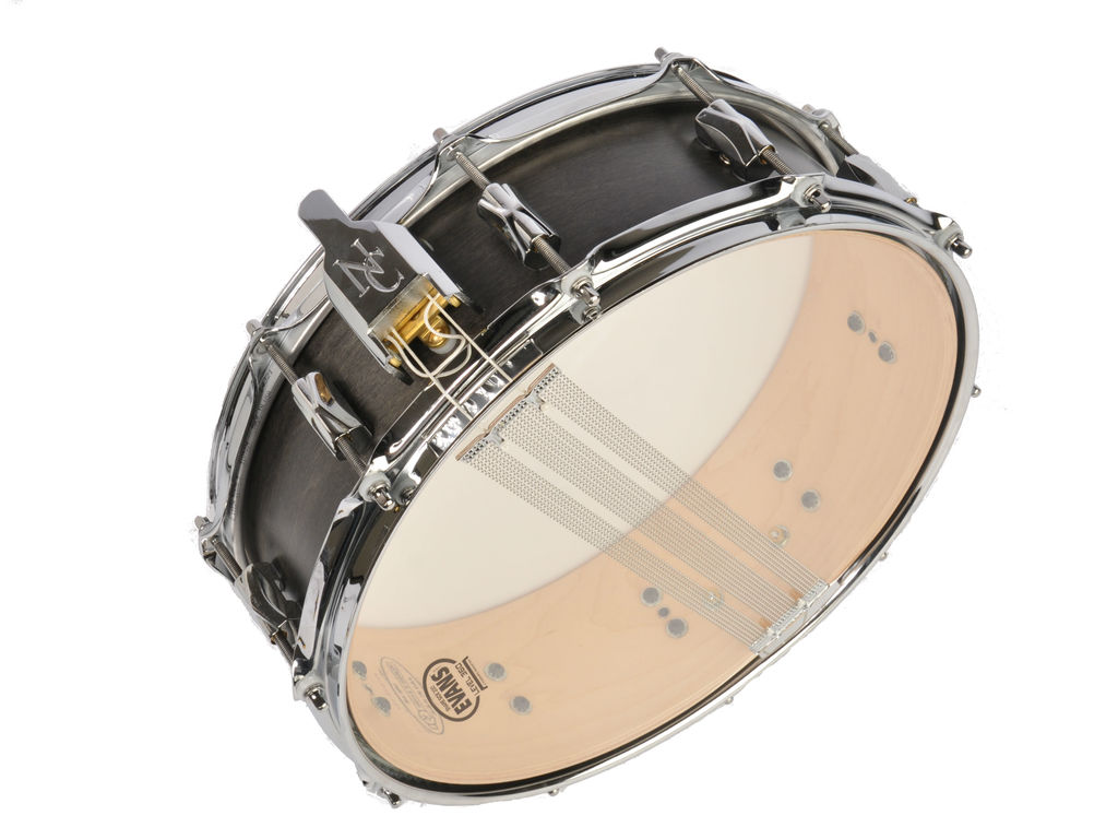 "Snaredrum Noble&Cooley, CD Snare, 14"" x 4.5"", Blackwash Matte/Flanged Hoop"