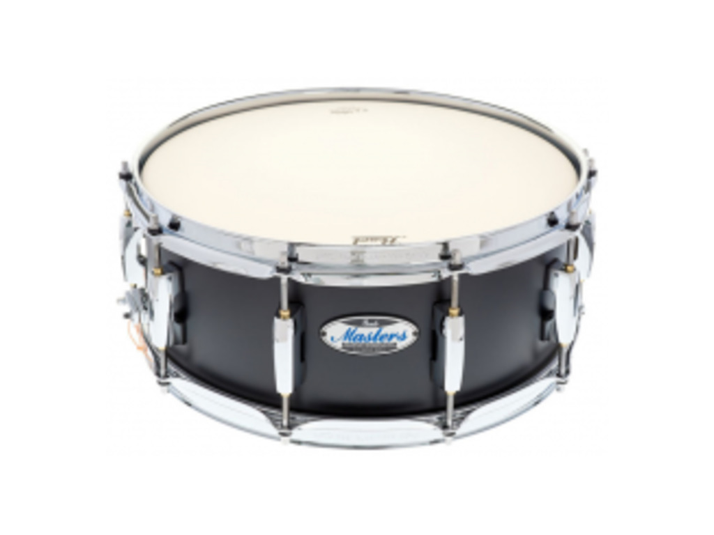 "Snaredrum Pearl MCT1455S/C339, Masters Maple Complete, Matte Caviar Black 14"" x 5,5"""
