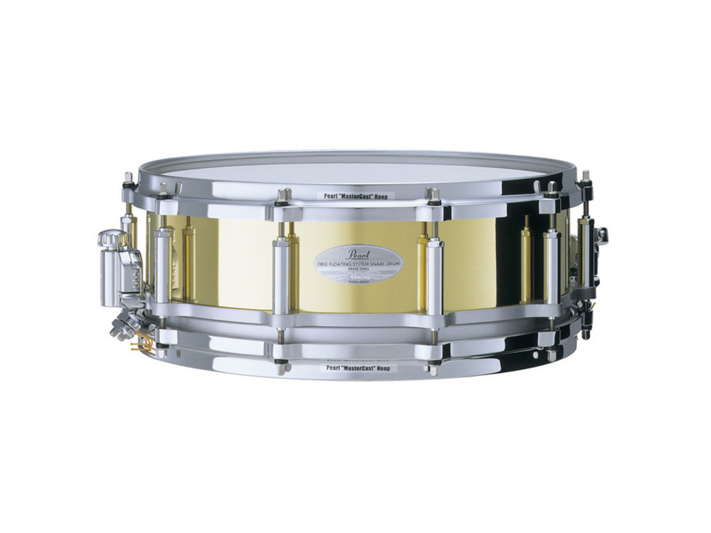 "Snaredrum Pearl Free Floating FB1465 14"" x 6,5"", brass"