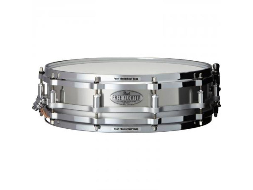 "Snaredrum Pearl FTSS1435, 14"" x 3.5"" Stainless Steel Free Floating"
