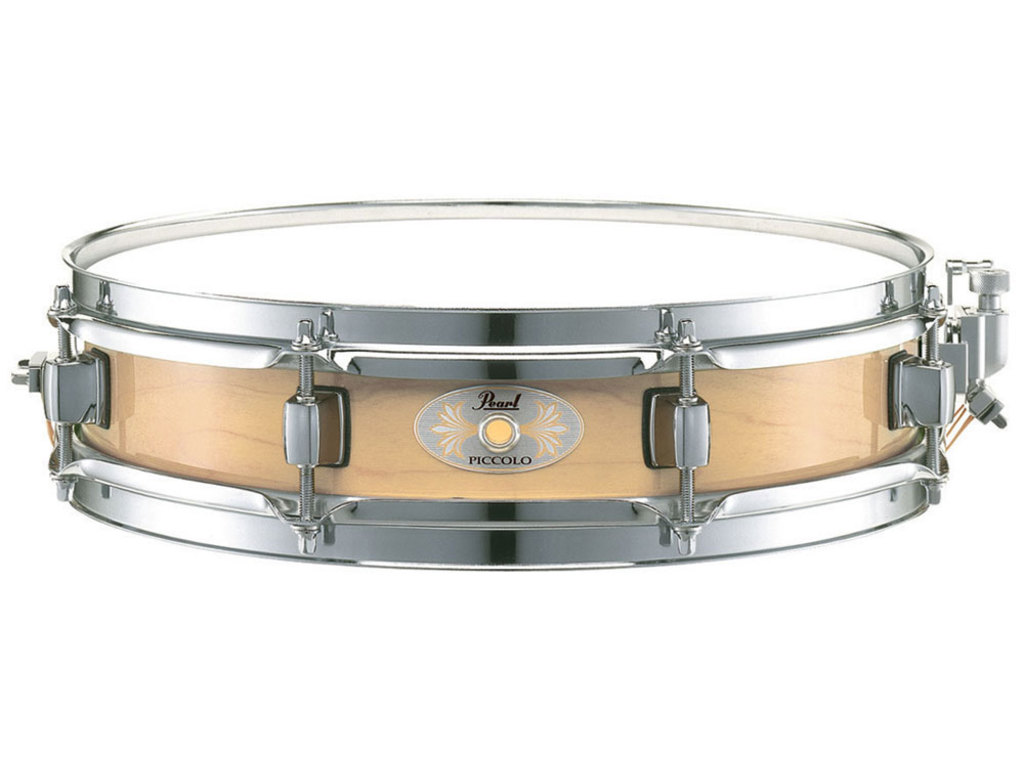"Snaredrum Pearl M1330, 13"" x 3"", 6 ply maple piccolo, wit"