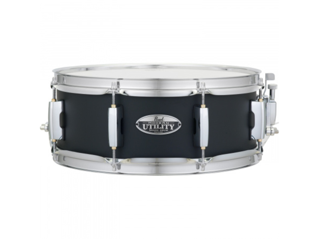"Snaredrum Pearl MUS1455M/C234, 6 ply maple shell Modern Utility Snare Drum 14""x5,5"" #234 Black Ice"
