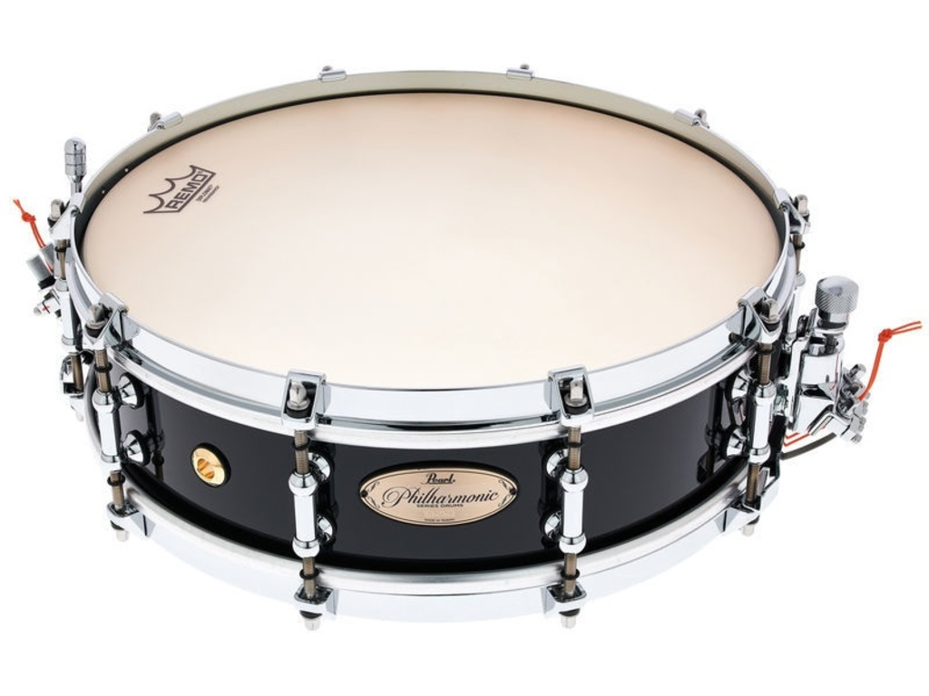 "Snaredrum Pearl PHP1440, 14"" x 4"" Philharmonic SD, 6 ply maple shell, met Silent Strainer"