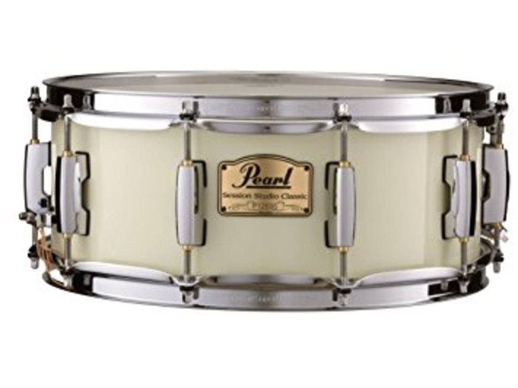 "Snaredrum Pearl SSC1455S/C, 14"" x 5,5"", Session  #106 Antique Ivory"