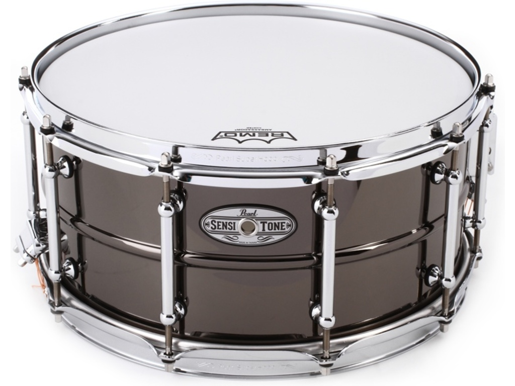 "Snaredrum Pearl STA1465BR, 14"" x 6,5"", Sensitone Beaded, Brass"