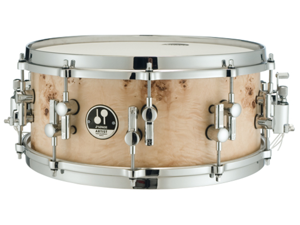 "Snaredrum Sonor AS 12 1406 CM SDWD, Artist Serie, Cottonwood maple 9ply = 6mm 14"" x 6"""
