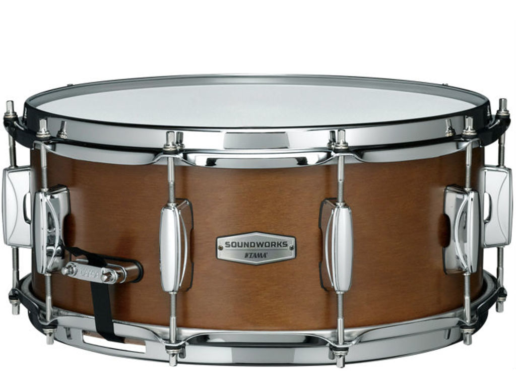 "Snaredrum Tama DKP146-MRK, Soundworks, 6mm, 6ply Kapur, Sound Arc Hoop, MCS70A/B Strainer, MS20R14S Snappy, 14"" x 6"""
