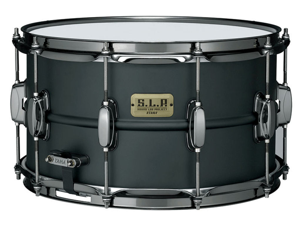 "Snaredrum Tama LST148 SLP, 14"" x 8"", 1mm, Staal, Mighty Hoop, MCS70A/B Strainer, MS20SN14S Snappy"