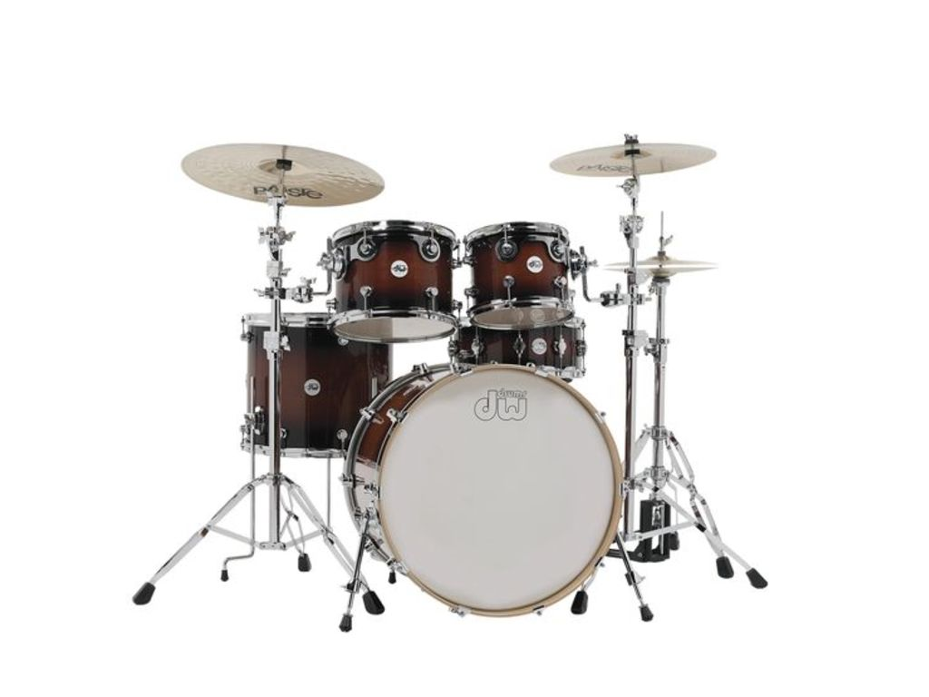 "Shell Set DW Design 22"" Frequent Flyer 5-delig Tobacco Burst, 22"", 10"", 12"", 16"", 14"""