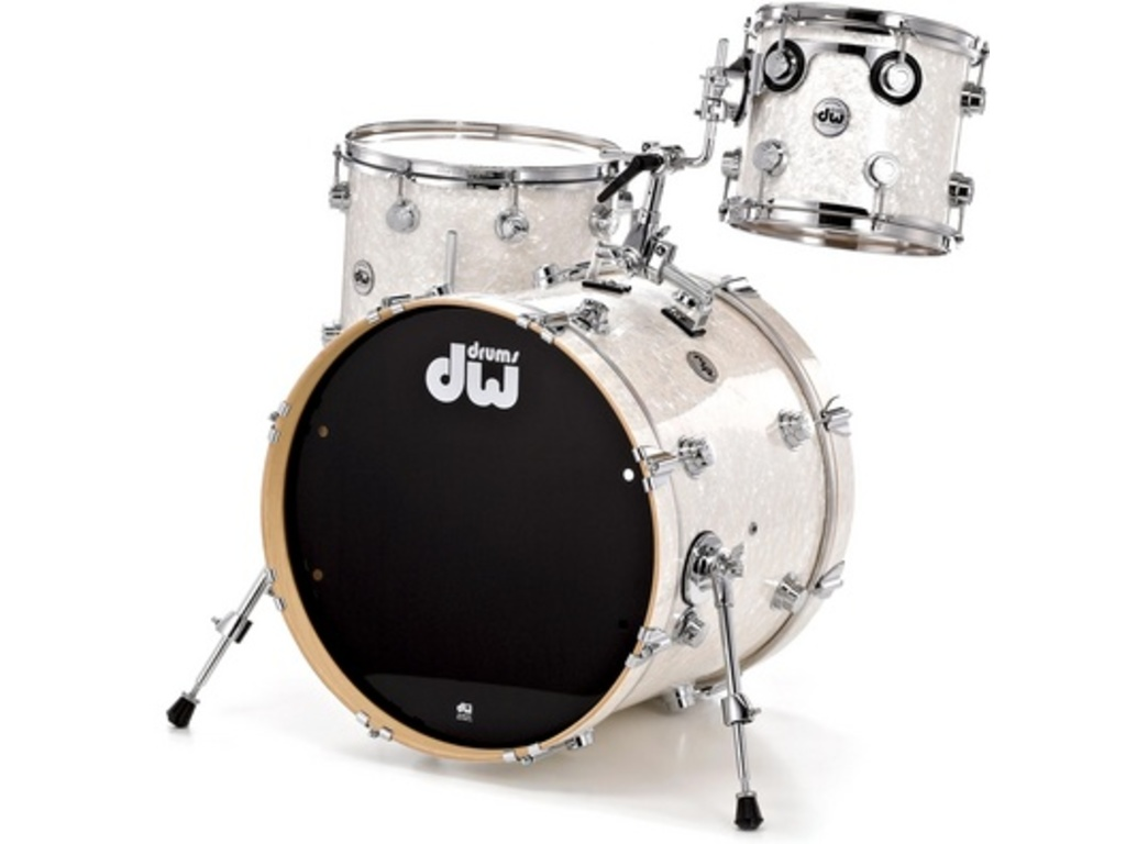 "Shell Set DW Performance Finish Ply / Satin Oil 18"" 3-delig, 18"", 12"", 14"""
