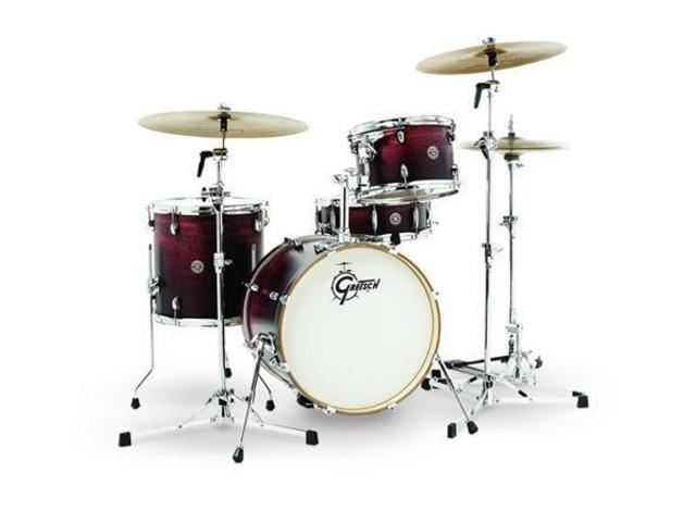 "Shell Set Gretsch Catalina Club CT1-J484-SAF Satin Antique Fade, 18"", 12"", 14"", 14"""