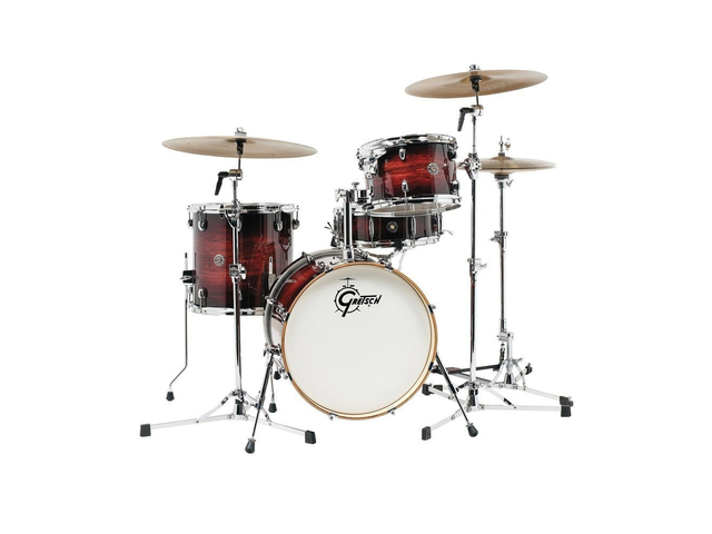"Shell Set Gretsch Catalina Club CT1-J484-GAB Gloss Antique Burst, 18"", 12"", 14"", 14"""