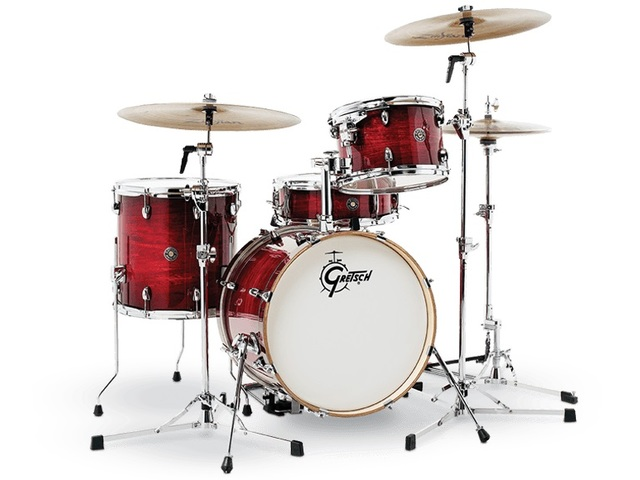 "Shell Set Gretsch Catalina Club CT1-J484-GCB Gloss Crimson Burst, 18"", 12"", 14"", 14"""