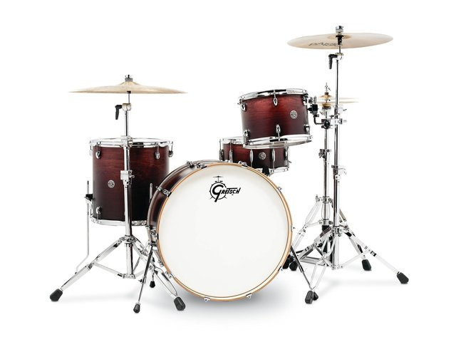 "Shell Set Gretsch Catalina Club CT1-R444-SAF Satin Antique Fade, 24"", 13"", 16"", 14"""