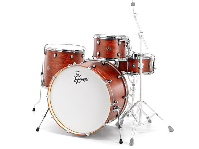 "Shell Set Gretsch Catalina Club CT1-J404-SWG Satin Walnut Glaze, 20"", 12"", 14"", 14"""